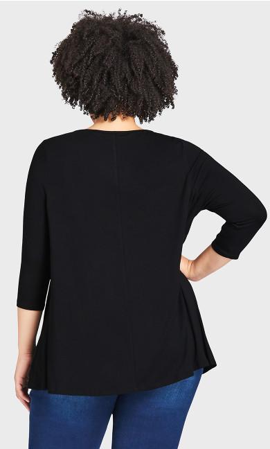 Dartmouth Top - black