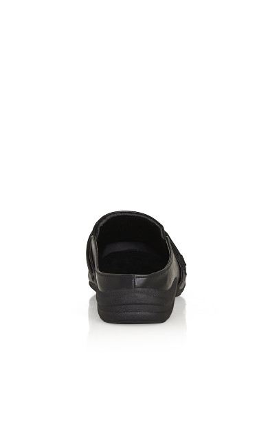 Closed Toe Clog - black