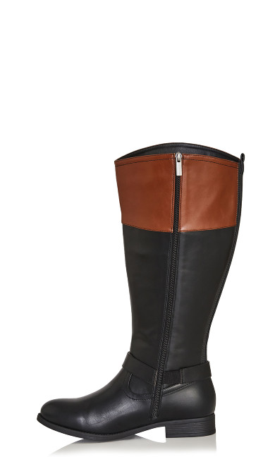 Tall Riding Boot - black