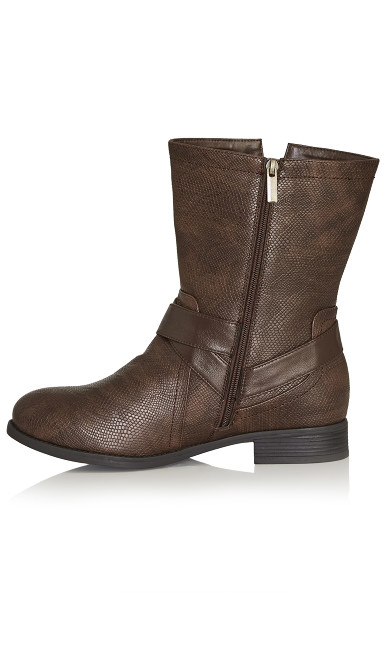 Mid Boot - brown