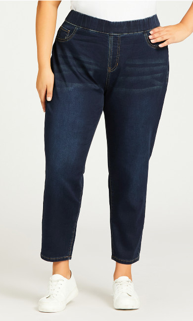 Jegging High Rise Dark Wash - petite