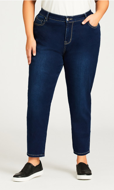 Butter Denim Skinny Jean Dark Wash - petite