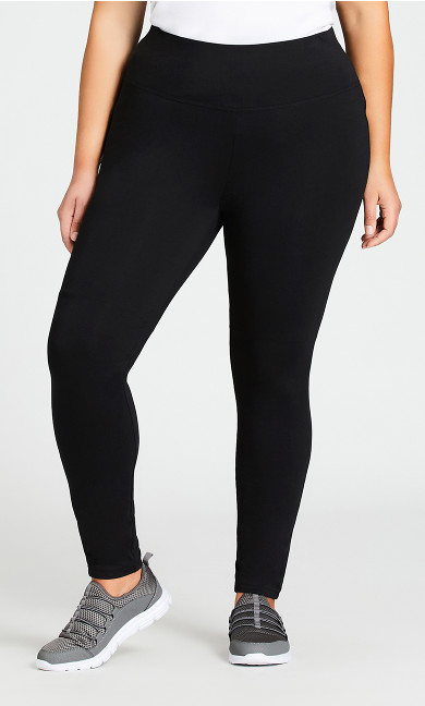 Legging Pima High Rise Black - average