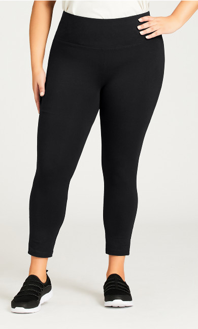 Legging Pima High Rise Black - petite