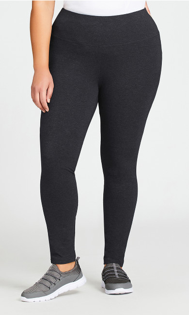 Legging Pima High Rise Charcoal - average