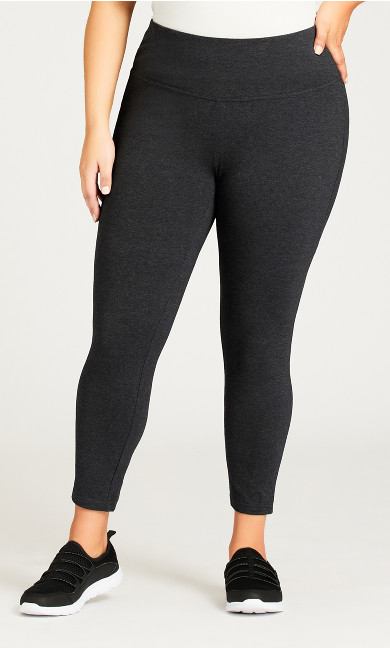 Legging Pima High Rise Charcoal - petite