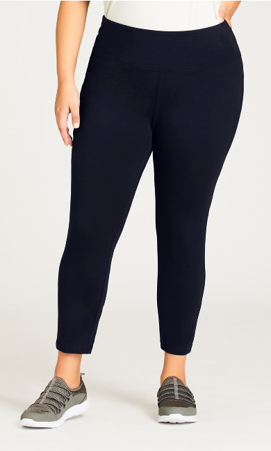 Legging Pima High Rise Navy - petite