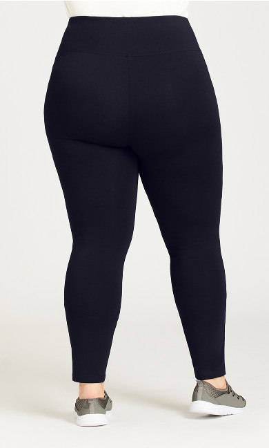 Legging Pima High Rise Navy - tall