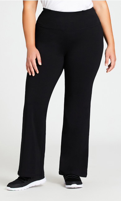Legging Pima Bootleg Black - average