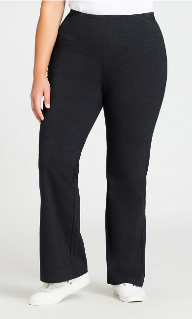 Legging Pima Bootleg Charcoal - average