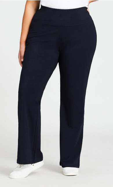 Legging Pima Bootleg Navy - average