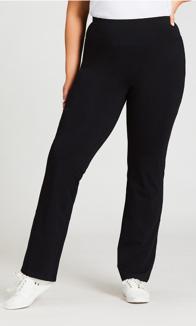 Legging Pima Bootleg Black - tall