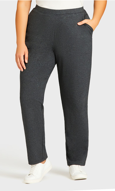Active Pocket Pant Charcoal - average