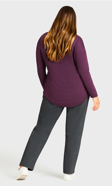 Active Pocket Pant Charcoal - average