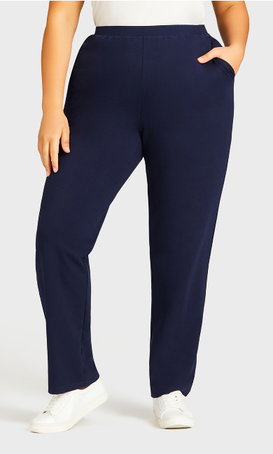 Active Pocket Pant Navy - average