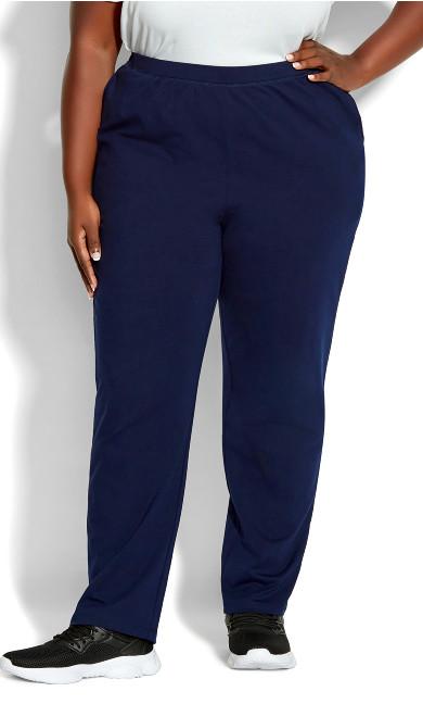 Plus Size Active Pocket Pant Navy petite