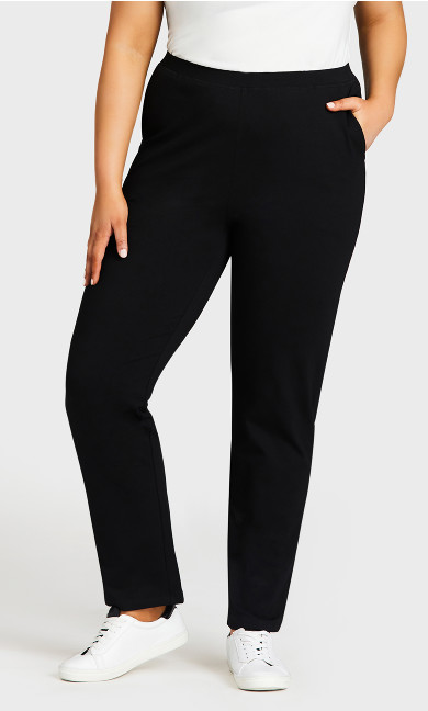 Active Pocket Pant Black - tall