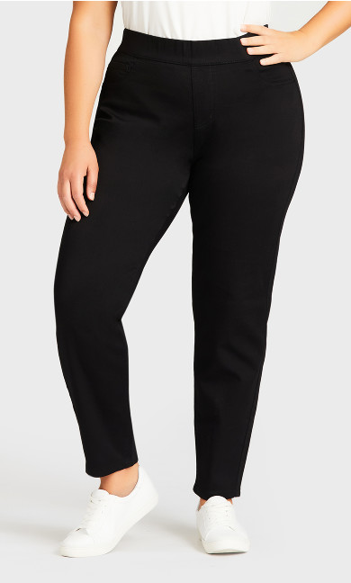Jegging Hi Rise Black - average