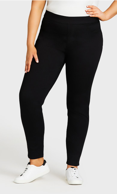 Jegging Hi Rise Black - tall
