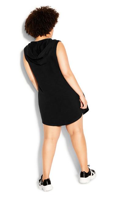 Relax Me Dress - black