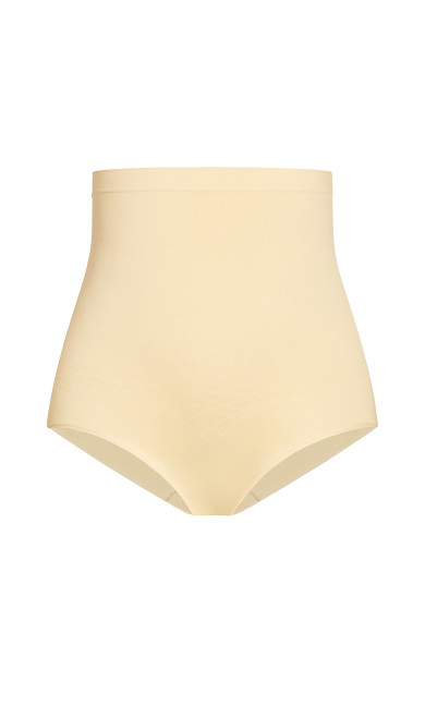 Hi Waist Shaper Brief - beige