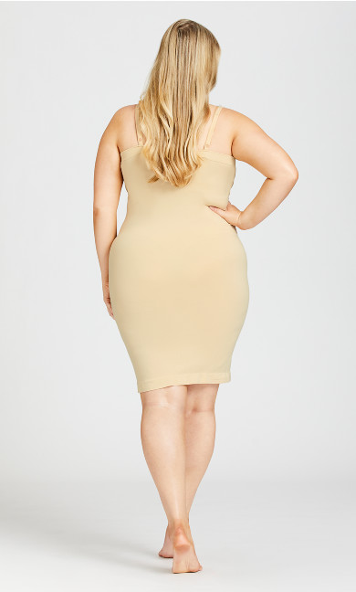 Seamless Shaper Slip - beige
