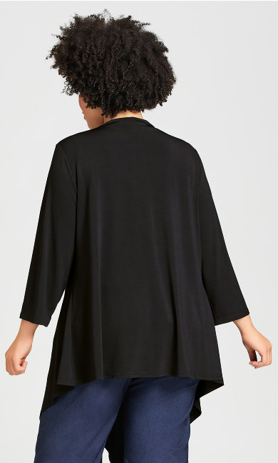 Plain Overpiece - black