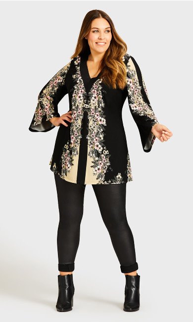 Broadway Place Tunic - black