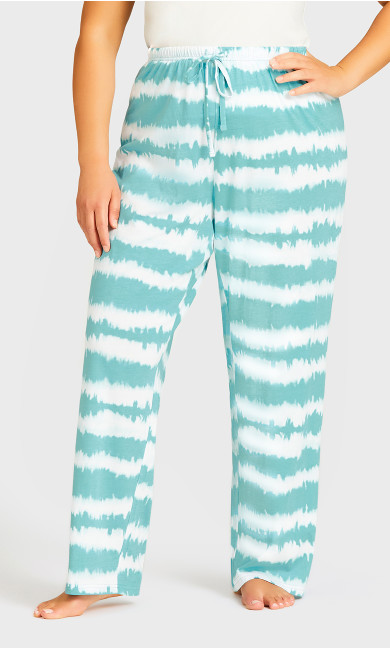 Tie Dye Sleep Set -  teal