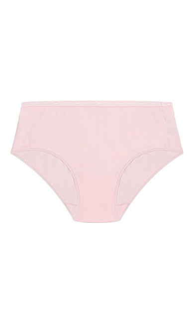 Fashion Cotton Full Brief - ballet pink