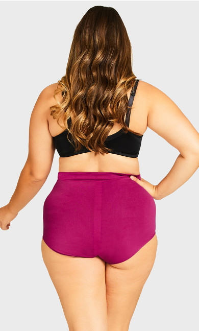 Fashion Seamless Full Brief - magenta