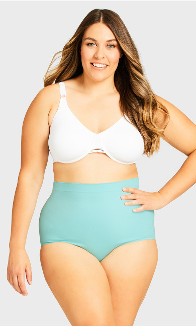 Fashion Seamless Full Brief - peppermint