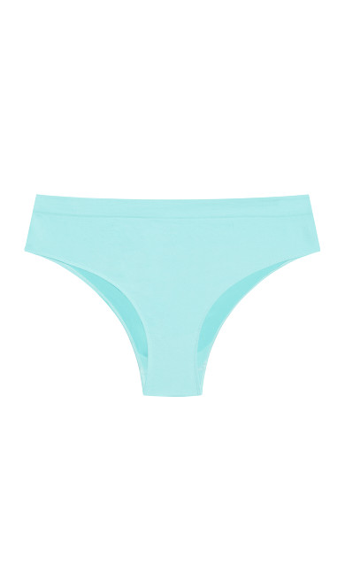 Fashion Seamless Hi Cut Brief - peppermint