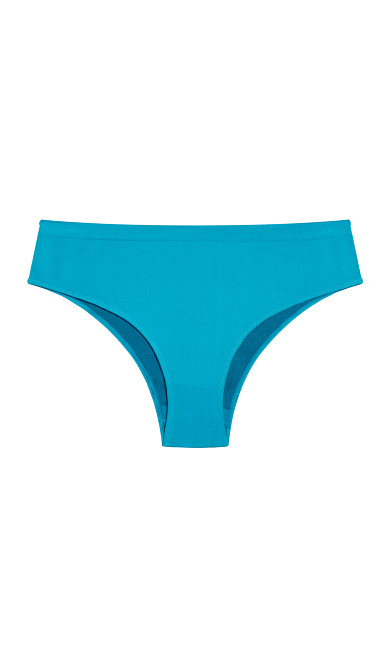 Fashion Seamless Hi Cut Brief - teal