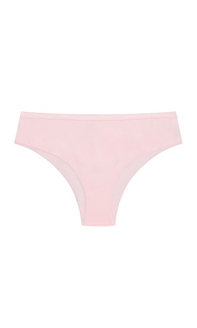 Fashion Cotton Hi Cut Brief - ballet pink