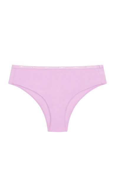 Fashion Cotton Hi Cut Brief - lilac