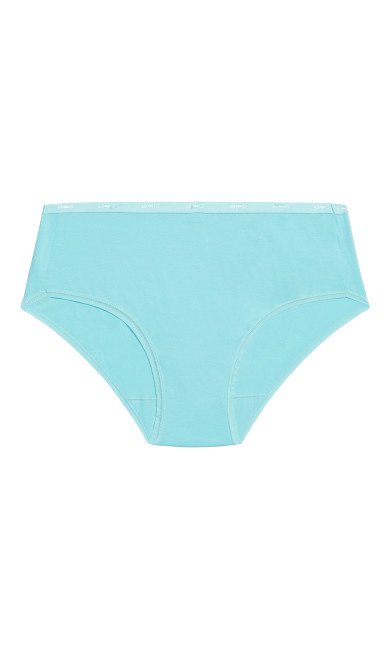 Fashion Cotton Modern Brief - aqua