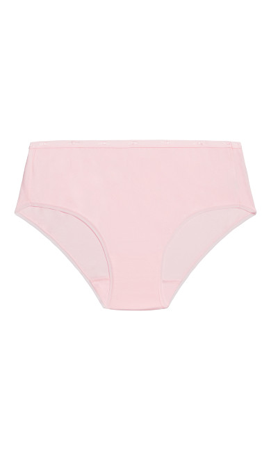Fashion Cotton Modern Brief - ballet pink