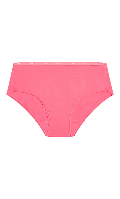 Fashion Cotton Modern Brief - coral