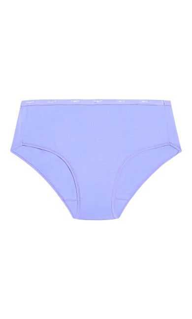 Fashion Cotton Modern Brief - lavender