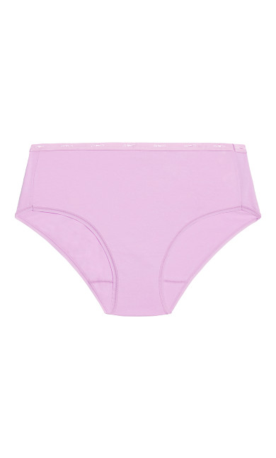 Fashion Cotton Modern Brief - lilac