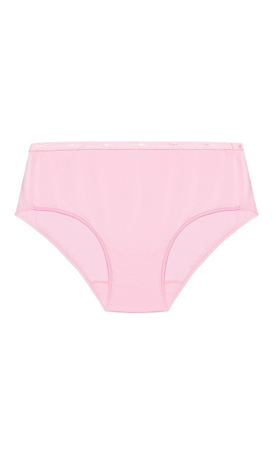 Fashion Cotton Modern Brief - pink