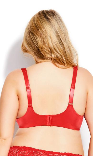 Fashion Plunge Bra - scarlet