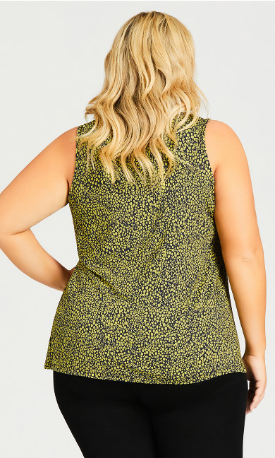 Knitted Tank Top - green