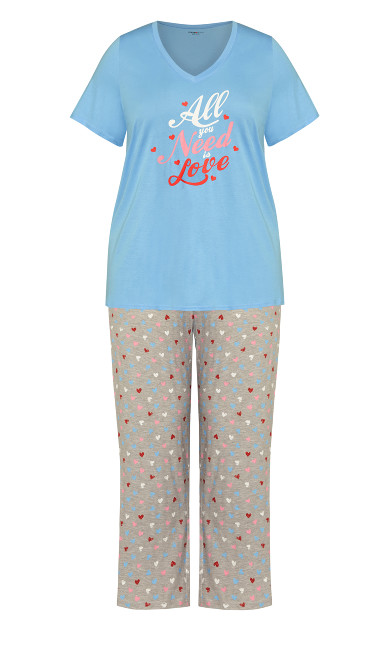 Need Love Sleep Set - blue
