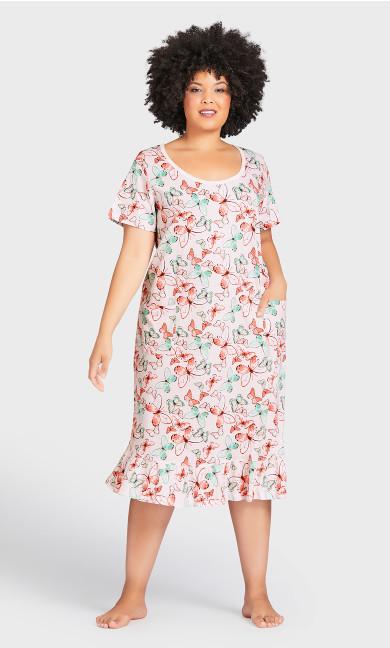 Butterfly Dress - pink