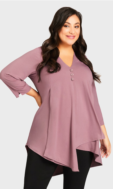 Woodlands Tunic - rose