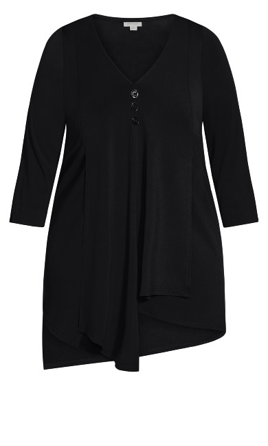 Woodlands Tunic - black