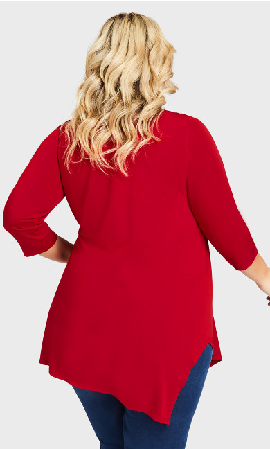 Woodlands Tunic - ruby