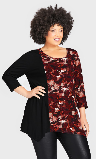 Deltona Tunic - berry